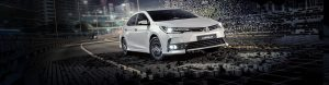 locação do Corolla Toyota